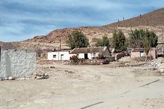 CHILE 1996 / Pueblo andino - Caspana (Julio Herrera Ibanez) Tags: chile nortegrande altiplano sendero calles rutas