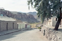 CHILE-  1996 / Pueblo andino - Caspana (Julio Herrera Ibanez) Tags: chile nortegrande altiplano sendero calles rutas