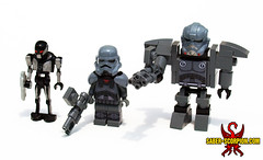 Dark Troopers Phase 1, 2, and 3
