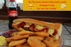 Hot-Dog (Guillaume Auberget) Tags: hotdog nourriture food patate pommedeterre smiley