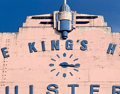 King's Hall, Belfast (John D McDonald) Tags: iphone appleiphone iphonexr appleiphonexr northernireland ni ulster geotagged belfast southbelfast lisburnroad kingshall kingshallbelfast upperlisburnroad balmoral south building architecture artdeco artdecobuilding artdecoarchitecture artdecofacade facade bluesky blue sky