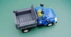 ZIL-MMZ-4502 (Makaleves Lego Vehicles) Tags: lego zil 130 mmz 4502 soviet dumper truck зил