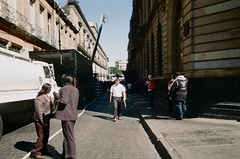 (TheKinkyKid) Tags: lomography street photography kodak kb22 kodacolor 400 iso film fotografia foto analoga filmfilmforever f2 photo lomo walk 50 mm people mexico city gente set filmisnotdead ishootfilm kodakkb22