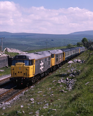 31199 31154 Cl110 Ribblehead 120688 img1202-1888g-a copy (Tony.Woof) Tags: 31199 31154 ribblehead settle carlisle class 110 101