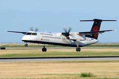 CYVR - Air Canada Express De Havilland Canada DHC-8-400 C-GGOY (CKwok Photography) Tags: yvr cyvr aircanadaexpress dhc8400 cggoy