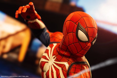 Hot Toys Spider-Man PS4 (Advanced Suit) (dorklordcollectibles) Tags: hottoys actionfigure toy onesixth onesixthscale toyphotography sonya6000 a6000 spiderman marvel peterparker insomniacgames