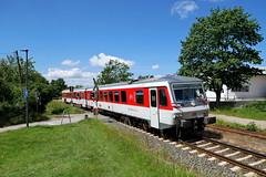 P1860069 (Lumixfan68) Tags: eisenbahn züge triebwagen baureihe 628 vt dieseltriebwagen sylt shuttle plus deutsche bahn db regio hein schönberg schwentinebahn kieler woche