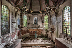 Faith is a Passionate Intuition (Quiet Unusual) Tags: quiet urbex unusual chapel church abandoned faith passionate intuition