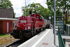 P1860140 (Lumixfan68) Tags: eisenbahn züge loks baureihe 261 voith gravita 10bb deutsche bahn db cargo rangierloks dieselloks schwentinebahn güterzüge