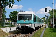 P1860013 (Lumixfan68) Tags: eisenbahn züge triebwagen baureihe 628 vt deutsche bahn db museum regio hein schönberg schwentinebahn bundesbahn