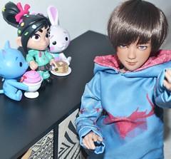 Soyan in his cute little world (Leïlan) Tags: youpladolls zopa bjd doll balljointeddoll artistdoll