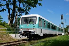 P1860108 (Lumixfan68) Tags: eisenbahn züge triebwagen baureihe 628 vt deutsche bahn db museum regio hein schönberg schwentinebahn bundesbahn