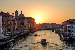 Venice Sunrise (scotty-70) Tags: venice venizia italy canal water travel boat river building architecture sunrise golden hour goldenhour