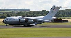 KAF342 (PrestwickAirportPhotography) Tags: egpk prestwick airport kaf kuwait air force boeing c17 globemaster kaf342