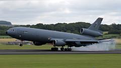 85-0034 (PrestwickAirportPhotography) Tags: egpk prestwick airport usaf united states air force mcdonnel douglas kc10a 850034 mcguire mobility command