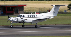 84-0156 (PrestwickAirportPhotography) Tags: egpk prestwick airport us army united states beechcraft c12 840156