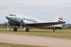 HA-LIX (Baz Aviation Photo's) Tags: halix lisunov li2 malev duxford egsu qfo daks over normandy
