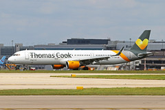G-TCDM 3 Airbus A321-211S Thomas Cook Airlines UK MAN 22JUN19 (Ken Fielding) Tags: gtcdm airbus a321211s thomascookairlinesuk aircraft airplane airliner jet jetliner aviation