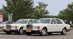 RP-43-FP & PK-41-ZF (2) (Nivek.Old.Gold) Tags: 1987 rollsroyce silver spirit 1986 bentley eight netherlands