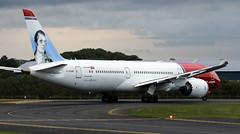 G-CKWC (PrestwickAirportPhotography) Tags: egpk prestwick airport norweigan boeing 787 b787 gckwc