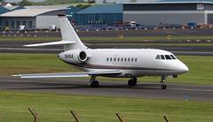 CS-DLE (PrestwickAirportPhotography) Tags: egpk prestwick airport netjets europe dassault falcon 2000 csdle