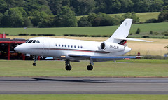 CS-DLM (PrestwickAirportPhotography) Tags: egpk prestwick airport netjets europe dassault falcon 2000 csdlm