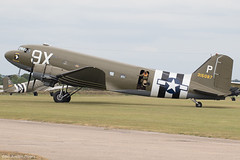 315087 (Baz Aviation Photo's) Tags: 4315087 n150d douglas c47a united states air force duxford egsu qfo daks over normandy