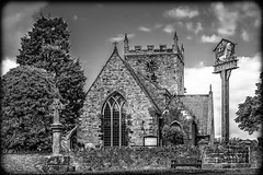Project Sunday Week 25-00541 (michael.knight65) Tags: church bw black white sywell northants uk sony a7iii sign