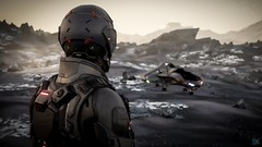 315p landing site Lyria (spacegamer.co.uk) Tags: starcitizen 4k screenshot scifi