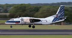 YL-RAD (PrestwickAirportPhotography) Tags: egpk prestwick airport raf avia antonov an26 ylrad