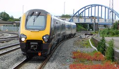 Class 220 Voyager bound for Newcastle (The Walsall Spotter) Tags: crosscountry trains derby railway station class220 voyager dmu 220018 diesel multipleunit southamptoncentral newcastle networkrail britishrailways