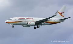 Surinam Airways B737 ~ PZ-TCS (© Freddie) Tags: aruba oranjestad surfsidebeach surinamairways boeing b737 pztct aua tnca tncaaua fjroll ©freddie