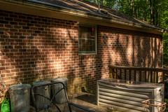 DILO - Summer Solstice June 21 2019 (29) (tommaync) Tags: dilojun2019 june 2019 june212019 nikon d7500 northcarolina nc summer summersolstice solstice chathamcounty chatham home house shadows storagebin cans bricks sunshine