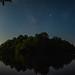 Milky Way and Moonrise over Sleepy Hollow. Arkansas. 2019.