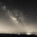 Milky Way Monochrome. Petit Jean Mountain. Arkansas. 2019.