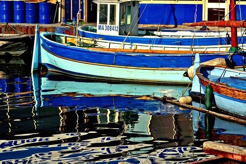 Barques...Vieux Port-Marseille