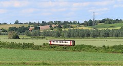 153 in Stour Valley 220619 (kitmasterbloke) Tags: ukclass153 dmu riverstour suffolk countryside pastoral