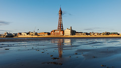 Blackpool, the Night Before the Summer Solstice (nickcoates74) Tags: 1650mm a6300 blackpool blackpooltower fylde ilce6300sel1650 lancashire sony beach coast evening seaside shore tower blackpoolgoldenhourmagicho uk