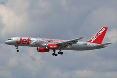Jet2 Boeing 757-200 G-LSAG (Adam Fox - Plane and Rail photography) Tags: airplane aeroplane airliner egcc airport manchester commercial civil jet aircraft plane jet2 airlines jet2com