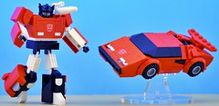 Sideswipe (Hobbestimus) Tags: lego transformers sideswipe kreo autobot 80s toys cartoon