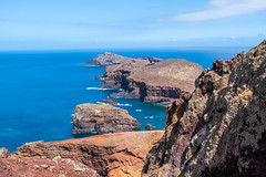 Punta sao lourenço (faltimiras) Tags: madeira portugal trekking hiking funchal ultratrail ruivo porto moniz coast costa ocean cliff nature travel travesia