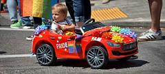 Who's Driving (Scott 97006) Tags: kid car drive parade cute street