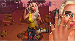 It's Me, Your Little Venice Bitch (Hanna ☾ Luna) Tags: icecream summer vibes venicebitch lanadelrey secondlife fashion blog blogger eastcoast blonde deboutique poses props hannahluna colorpop yellow style event swank designershowcase ninax