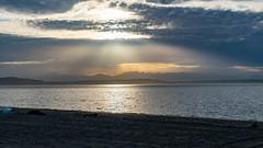 Sunset at Alki Beach (GDMetzler) Tags: pacificnorthwest pnw seattle washington sunset seascape mountains outdoors spring beach cloudy clouds nature beautiful evening tamron tamron2470 nikon nikond500 d500