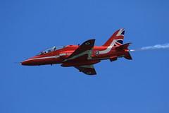 RAF Red Arrows (jon lees) Tags: raf red arrows aerobatics newcastle countydown northernireland