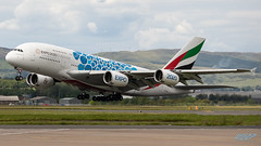 A6-EOC A380-861 Emirates (kw2p) Tags: a380861 a6eoc airbus aircraft airlineoperator airport aviation egpf emirates airliner aeroplane airplane plane flying flight kw2p canon canon7dmkii egpfgla glasgowairport glasgowinternationalairport glasgow scotland unitedkingdom