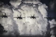 ✈️ McDonnell Douglas F/A-18 Hornet (ES).  TLP 2019.06.03 ALBACETE (ES) (EFRAIN A. JACOME Q.) Tags: verde