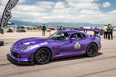 Violet (Hunter J. G. Frim Photography) Tags: supercar colorado airstrip pikes peak srt viper acr v10 manual american wing carbon coupe srtviper srtviperacr purple