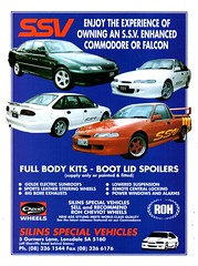 1994 SSV Silins Special Vehicles Ford Falcon Holden Commodore Enhance Body Kits Aussie Original Magazine Advertisement (Darren Marlow) Tags: 1 4 9 19 94 1994 s v ssv silins special vehicles f ford falcon h holden commodore e enhancement body k b kits a automobile c car cool vehicle vc vh vk l vl n vn p vp 90s