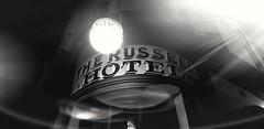 The Russell (Tidalist) Tags: hotel russellhotel therocks sydney eerie night nightlight citysign oldsign australia